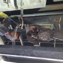 Bad step motor and water leaks