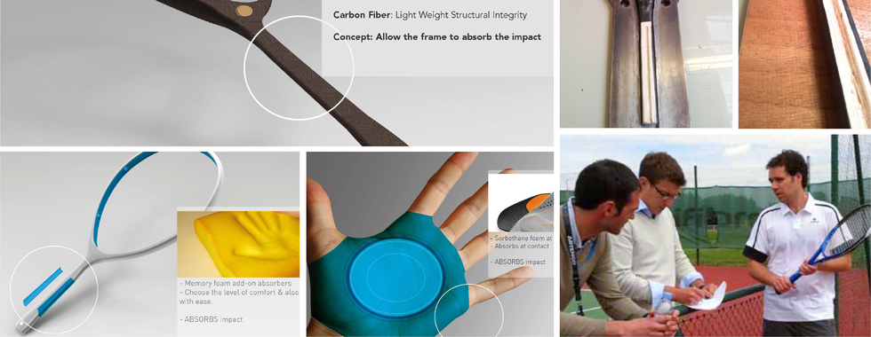 Comfort on Impact: Racket Innovation