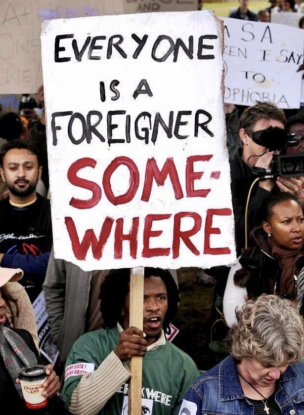 Sign-Everyone a foreigner