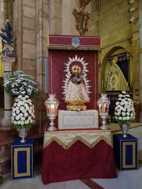 Retirada temporal del culto de la imagen de la Stma. Virgen de Villaviciosa