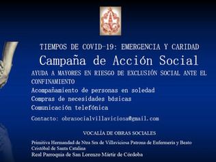 CAMPAÑA DE ACCIÓN ANTE EL RIESGO DE EXCLUSIÓN SOCIAL