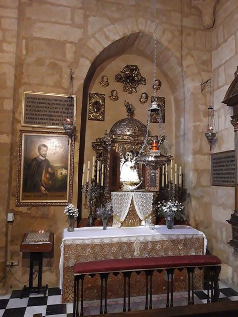 Restitución al culto de la antigua imagen titular