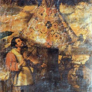 Cuadro anónimo del siglo XVIII de la parroquia de San Nicolás.