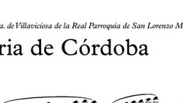 """GLORIA DE CÓRDOBA"" NUEVA MARCHA PROCESIONAL"