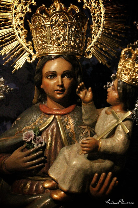Despedida de nuestra imagen titular la Stma. Virgen de Villaviciosa
