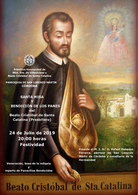 Solemne Función al Beato Cristóbal de Santa Catalina
