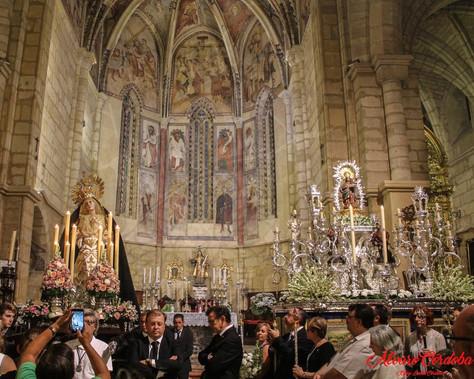 María Santísima Nazarena será abrazada por los cantos de la Coral Polifónica Mater Assumpta de Manza