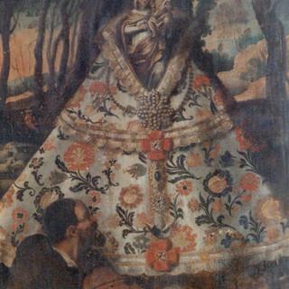 Cuadro anónimo del siglo XVIII del Monasterio de la Encarnación.