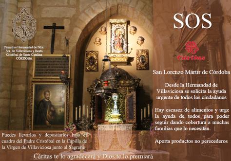 SOS CÁRITAS PARROQUIAL