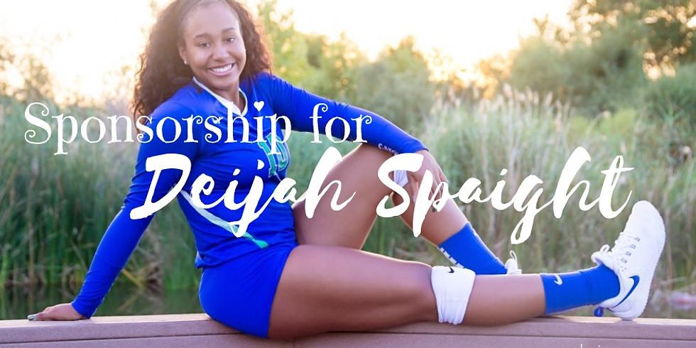 SPONSORSHIP FOR DEIJAH SPAIGHT