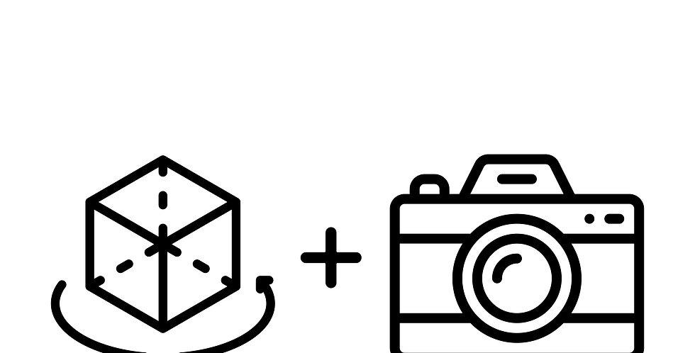 Paquete recorrido virtual un nivel y sesión fotográfica