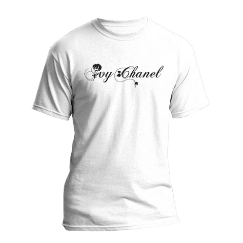 Ivy Chanel - Unisex Adult White T-shirt