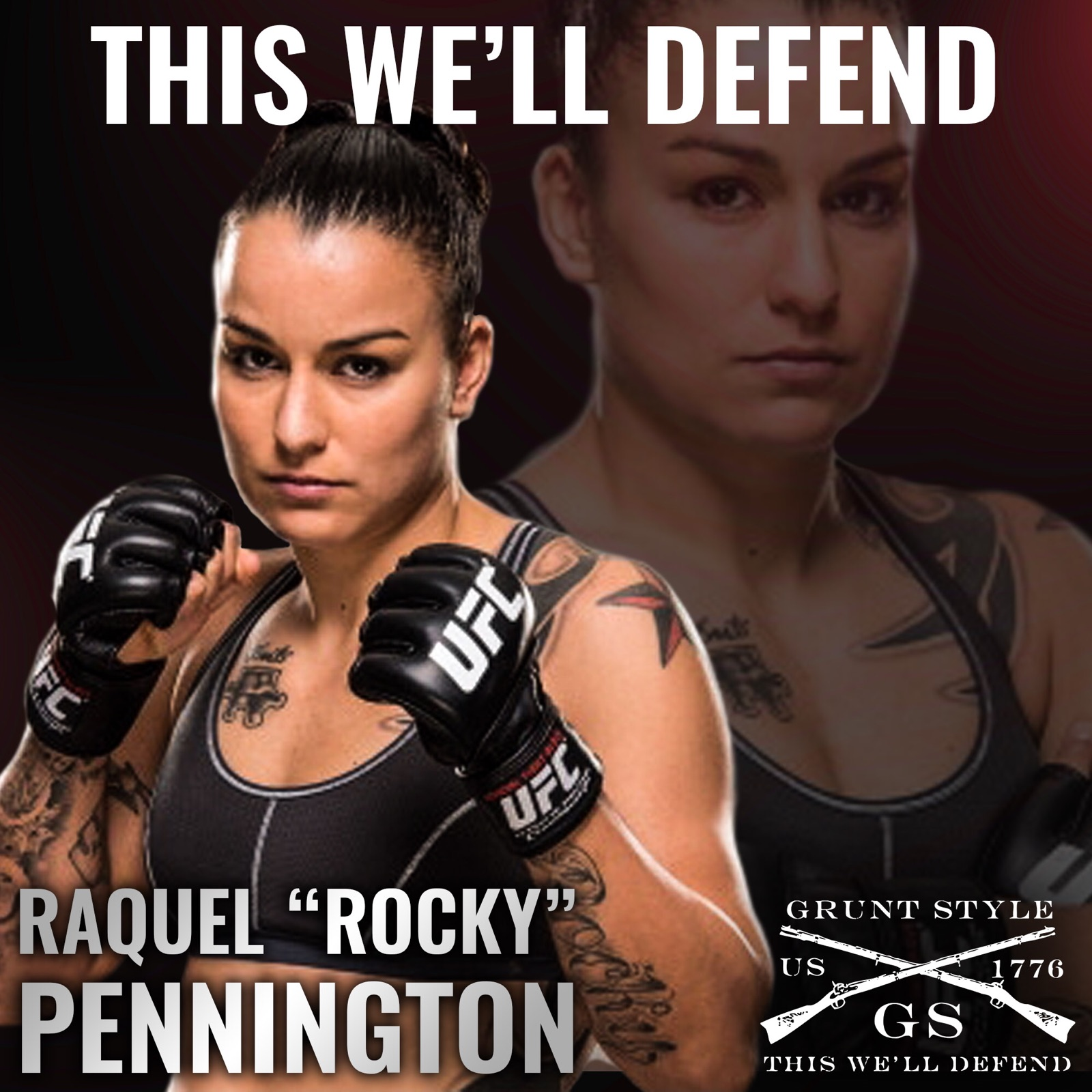 Raquel Pennington DB Group Grunt Style P