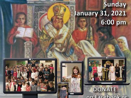 Please join us in celebrating St. Sava!