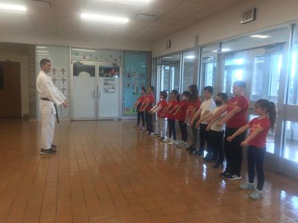 Karate Class!