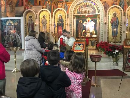 СРЕЋНА СЛАВА!                                        A Blessed Feast of St. Sava!