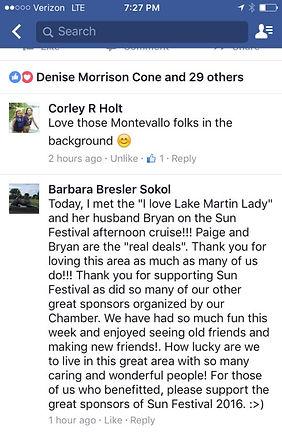 Facebook Lake Martin Alabama Review