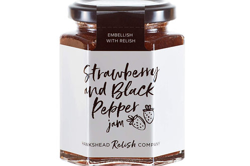 Hawkshead - Strawberry & Black Pepper Jam