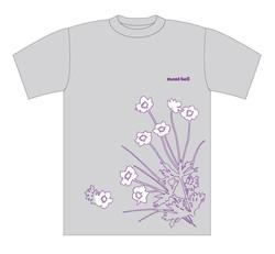 「mont-bell」女性用Tシャツ 2