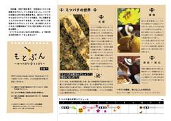 横浜養蜂「もとぶん」パンフレット