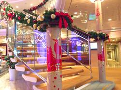 飛鳥Ⅱ 2017船内クリスマスデコレーション