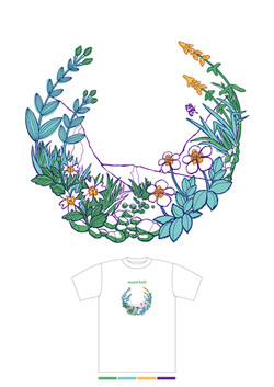 「mont-bell」女性用Tシャツ