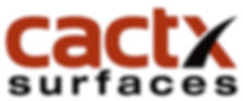 CACTX Surfaces Logo - 3 by 6 Front Ad Sp