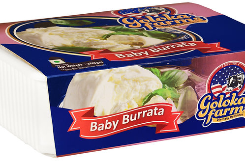 Baby Burrata in Brine 50g/piece (200g)