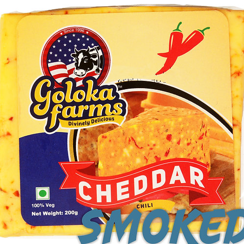 Smoked Chilli Cheddar (200g)