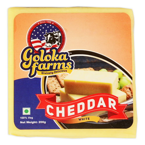 Cheddar - Sharp (white) 200g