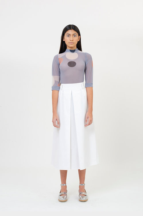 SKIRT PETIT PAVET WHITE