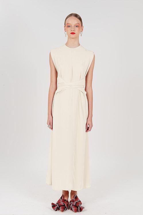 Vestido Art Deco Off White