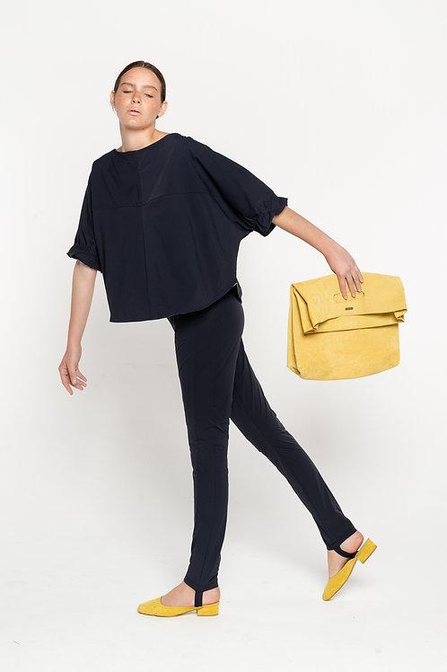 sleeve crimp blouse
