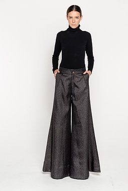 berlin wide legs trousers