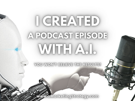 I Created a Podcast Episode with A.I.