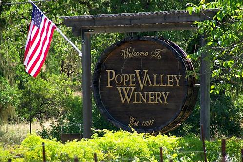 Pope Valley Vineyard Wine Tasting
