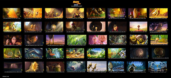 Maya the bee movie_Colorboard_excerpt