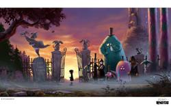 Ordinary Monsters_Aunt Eleonora´s Funeral