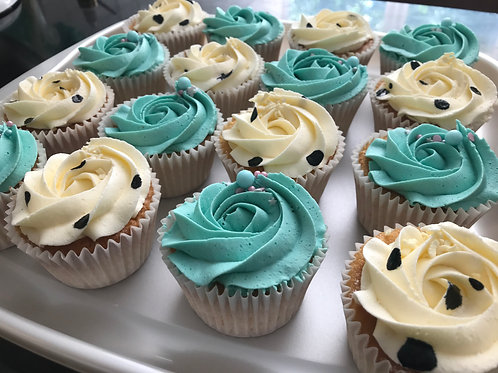 12 Boxed Cupcakes