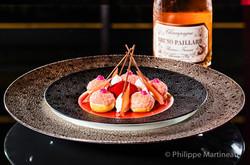 Dessert, Plat gastronomique, recette étoilée, haute gastronomie, plat de chef, Joel Robuchon
