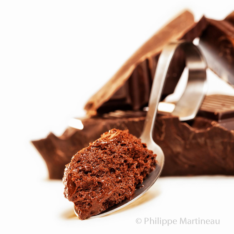 mousse chocolat cuillère
