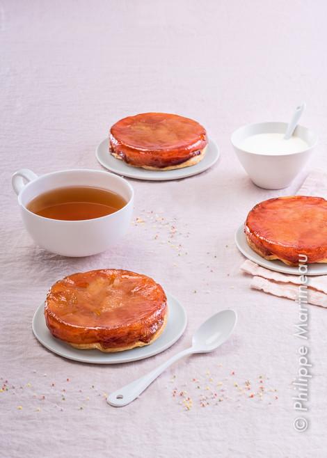 tarte pommes carmélisées
