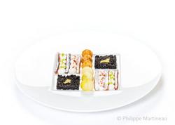 Plat gastronomique, recette étoilée, haute gastronomie, plat de chef, Pierre Meneau