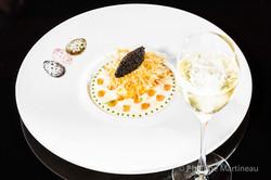 Plat gastronomique, recette étoilée, haute gastronomie, plat de chef, Joel Robuchon