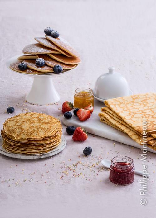 crepes et pancakes