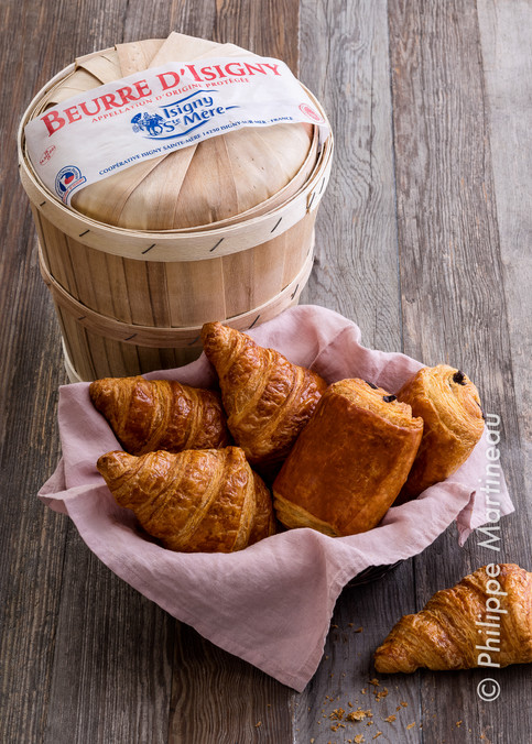 viennoiserie beurre Isigny