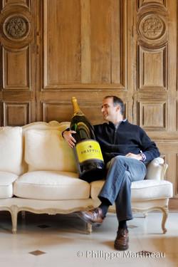 Champagne Drappier, Michel Drappier
