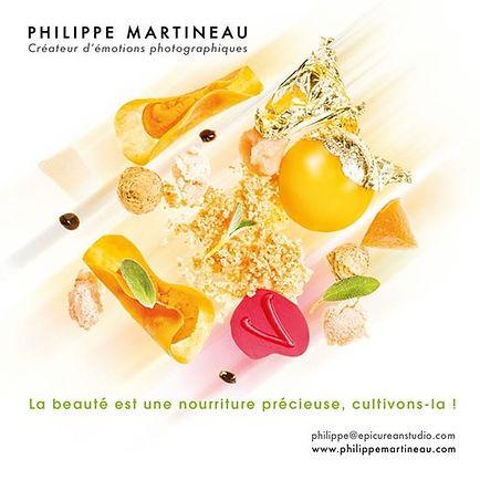 Philippe Martineau, photographe culinaire Paris