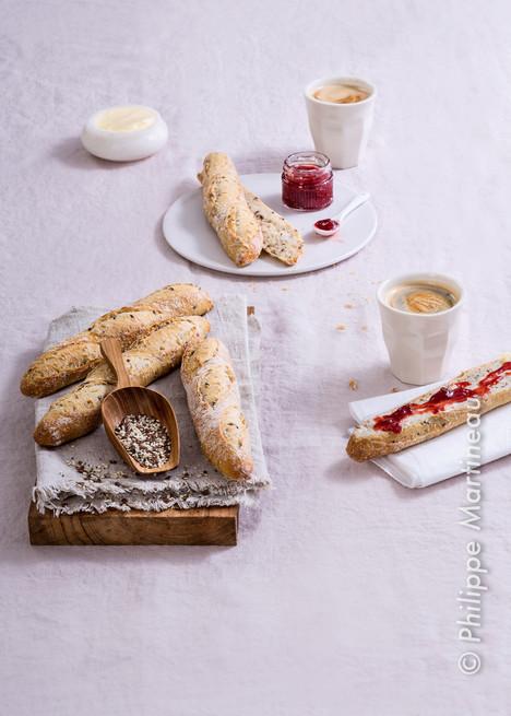 petits pains petit déjeuner