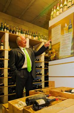 Audouze, collectionneur de vin